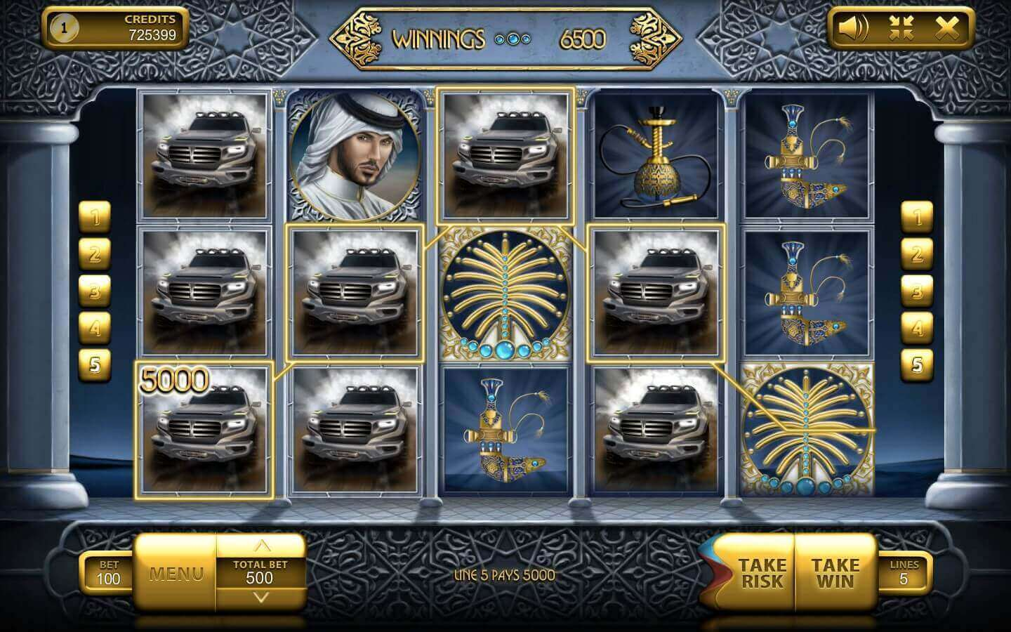 The emirate pokie play demo