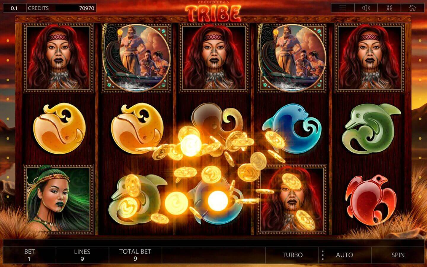 Tribe slot machine play demo