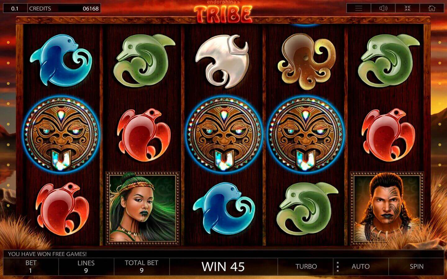 Tribe slot review