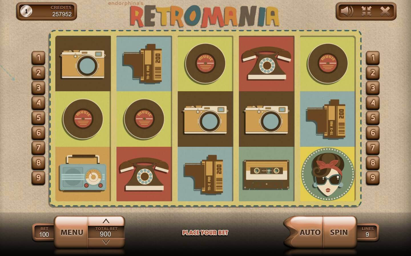 Retromania slot free play