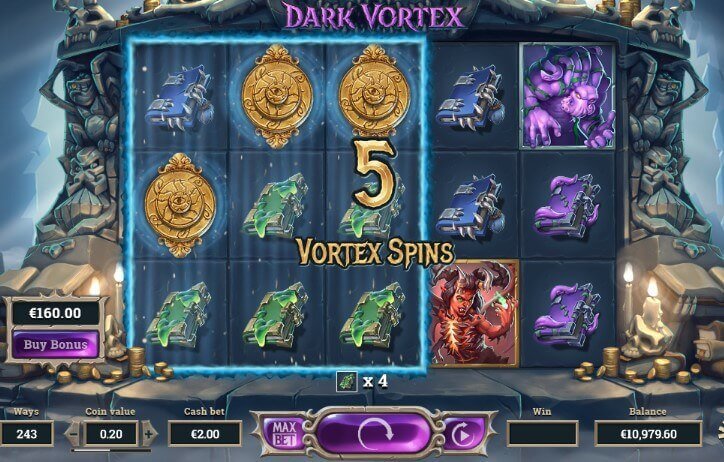 Dark vortex free games