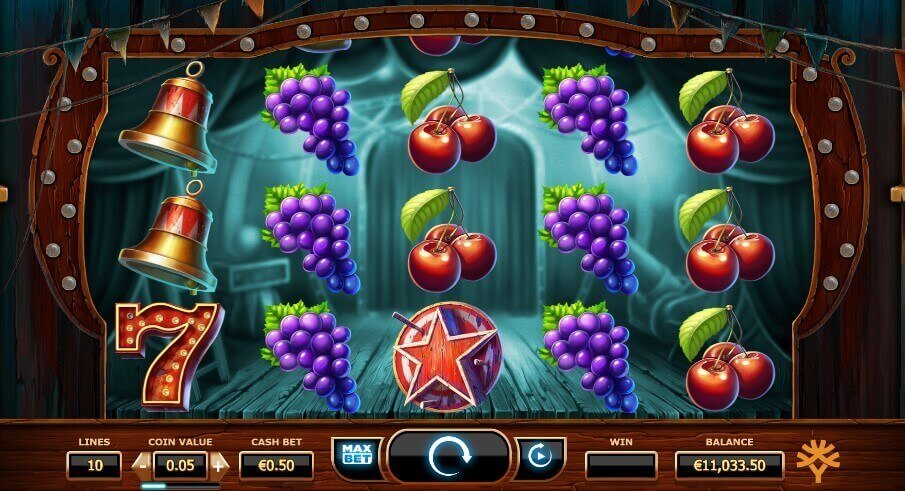 Wicked Circus slot demo