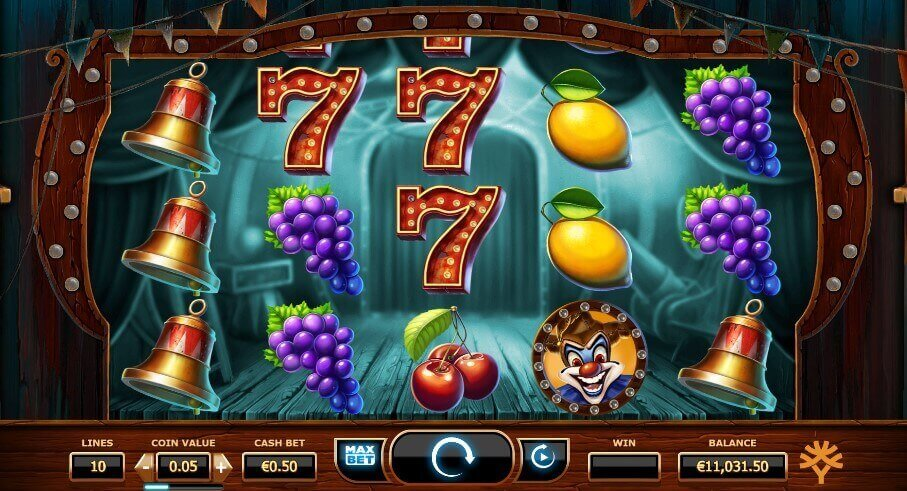 Wicked Circus - play slot machines
