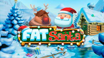 Fat santa pokie logo