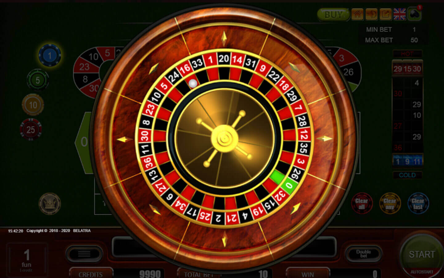 european roulette play online