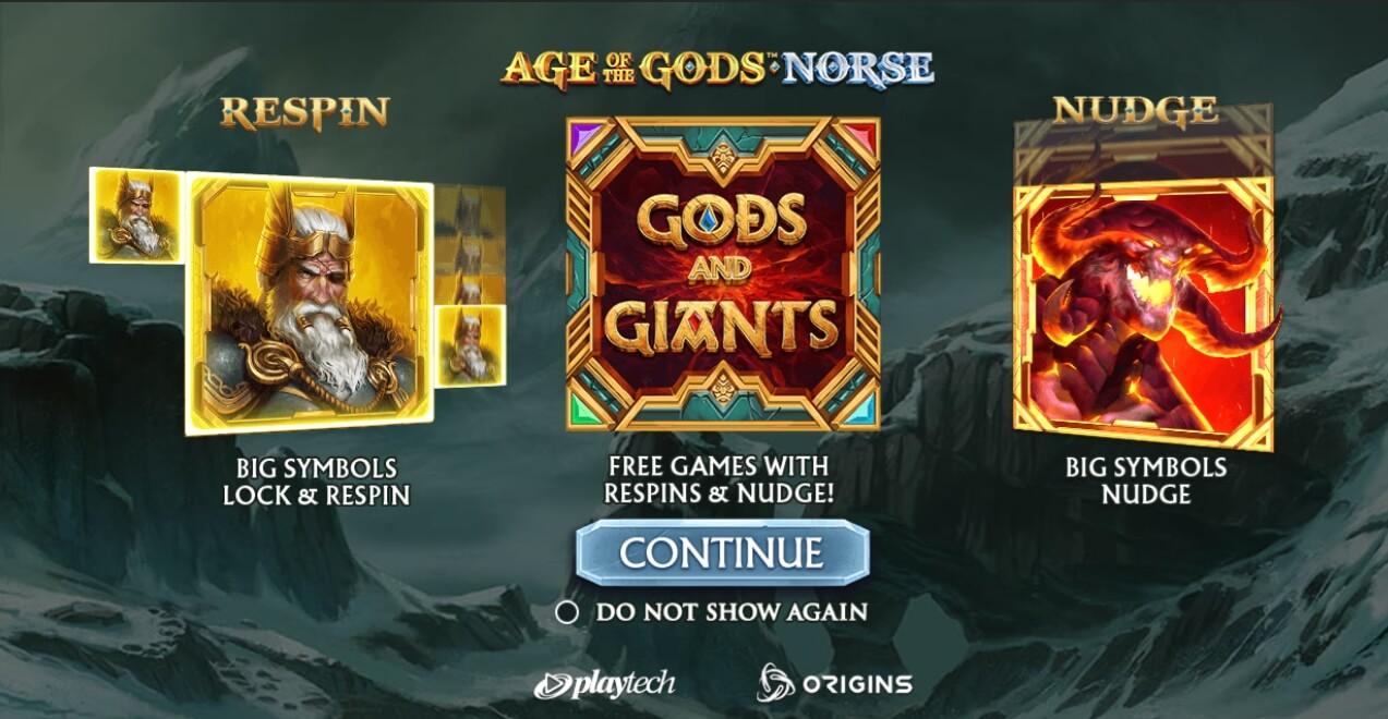 Age of the Gods Norse Gods and Giants заставка