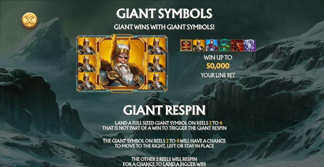 Age of the Gods Norse Gods and Giants специальные символы