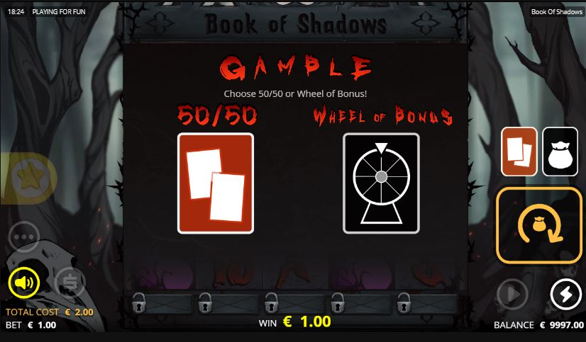 Risk game Book of Shadows