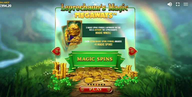 Leprechauns Magic Special Characters