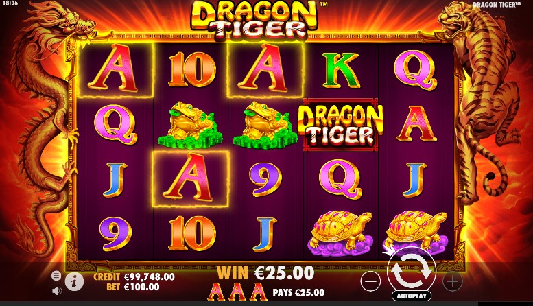 Dragon Tiger виграш