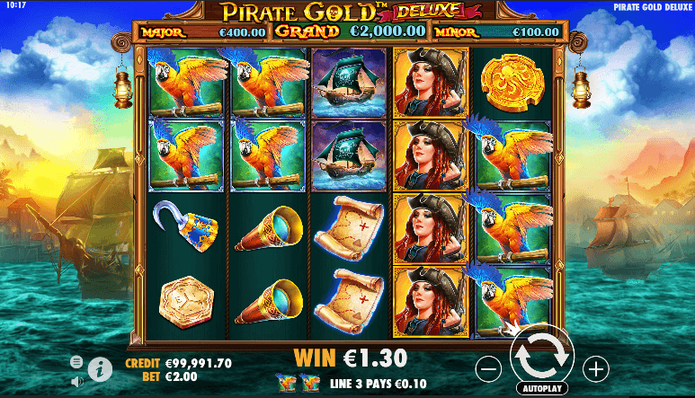 Pirate Gold Deluxe Win