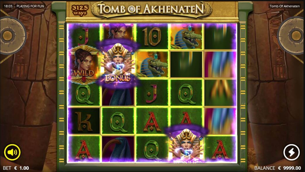 Tomb of Akhenaten выигрыш