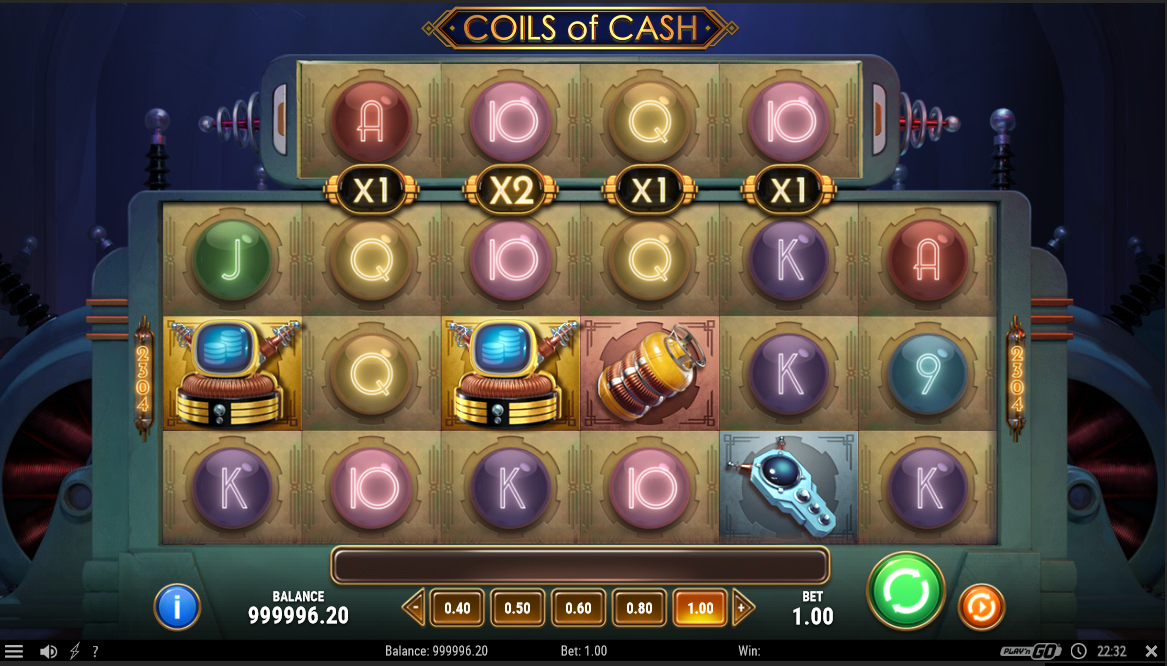 Coils of Cash interface