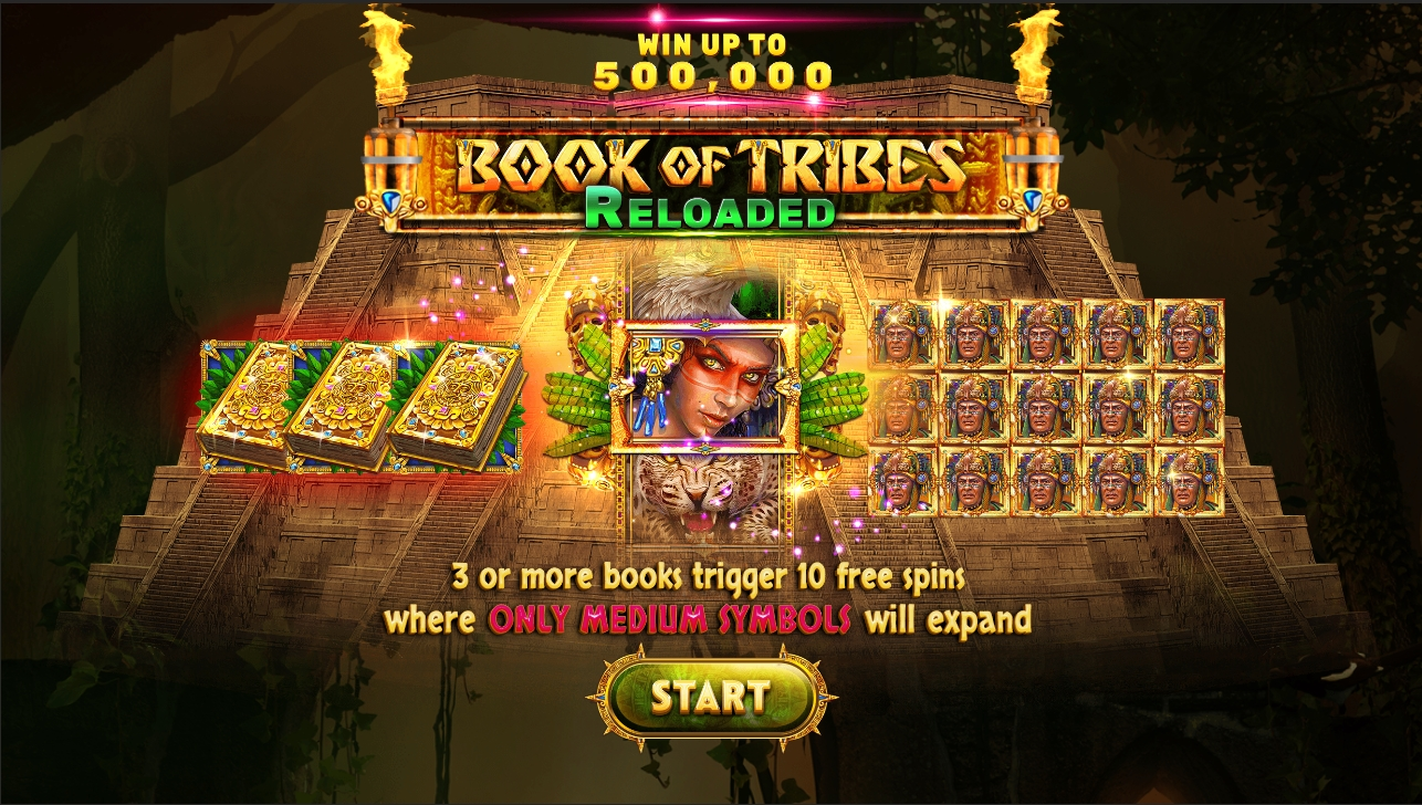 Book Of Tribes Reloaded wallpaper