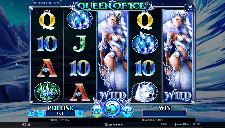 Queen of Ice interface