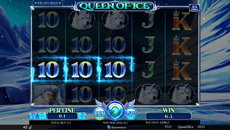 Queen of Ice win